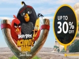 30% off Single Entry Tickets to Angry Birds Johor Bahru with Maybank
