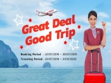 Great Deal Good Trip - Fly to Bangkok with Thai Lion Air
