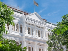 Staycation Offer at Raffles Singapore with Up to 50% Savings