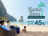 Tropical Escape - Save up to 45% on your Stay at Participating Centara Hotels and Resorts