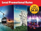 Get 2nd Ticket at SGD4.50 for One Faber Group Attractions