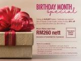 Birthday Month Special at Royale Chulan Kuala Lumpur
