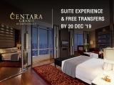 Suite Experience at Centara Grand & Bangkok Convention Centre at CentralWorld