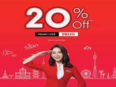 20% off on Flights in AirAsia Exclusive for DBS Cardholders