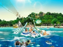 Enjoy Adventure Cove Waterpark at SGD38 with HSBC Card