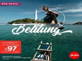 New Route - Fly to Belitung with AirAsia