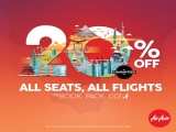 20% off flights to all destinations in AirAsia with DBS Card
