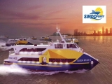 1-for-1 Adult Ticket for 2-way Ticket to Batam in Sindo Ferry with NTUC Card