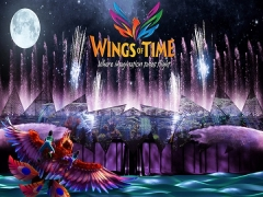 50% OFF Wings of Time Tickets with NTUC Card