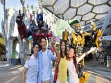 Mastercard® Exclusive: Universal Studios Singapore Adult Dated One-Day Ticket + Free SGD5 Meal Voucher and Minion Notebook Set at SGD75