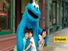 Maybank Exclusive: Universal Studios Singapore Child Ticket + FREE Ice-cream from SGD53 (Save up to 10%)