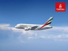 Up to 10% Savings on Selected Flights in Emirates with American Express