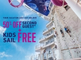 50% Off 2nd Guest + Kids Sail Free in Royal Caribbean