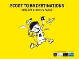 20% Off Flights in Scoot Exclusive for DBS Cardholders