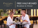 Free Breakfast & Dinner at Centara Grand Beach Resort Hua Hin