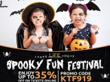 Enjoy up to 35% Off Tickets to Spooky Fun Festival at KidZania Kuala Lumpur
