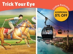 Trick Your Eye Bundle at One Faber Group Attractions