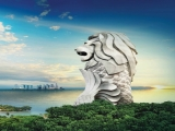 Month-long Promotion: 50% Off Admission Ticket to Sentosa Merlion