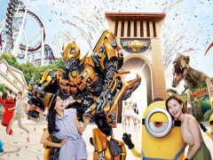 Universal Studios Singapore Adult One-day Ticket + SGD5 Meal Voucher at SGD79 with Citibank