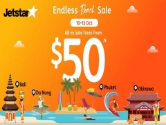 Endless Beach Sale - Fly with Jetstar from SGD 50