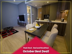 Bed & Breakfast Offer at Ramada Hotel Suites KLCC this October