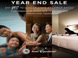 Year End Sale in Hotel Equatorial Penang