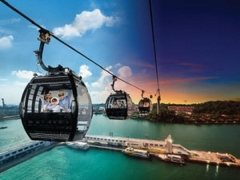 Local Promotional Rates - Up to 45% off Riding the Singapore Cable Car