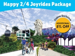 Happy 2 & 4 Joyride Package in One Faber Group Attractions