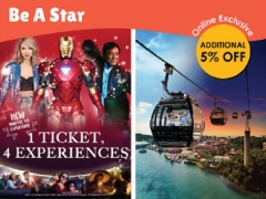 Be A Star Bundle in One Faber Group of Attractions