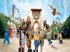 Exclusive Axis Bank Promotions: 3-Parks-in-1 Multi Attractions Package in Resorts World Sentosa