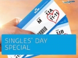Singles' Day Flight Offers in KLM Royal Dutch Airlines