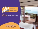 Enjoy a 20% Discount on your Stay at Centara Hotels around Phuket