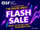 Flash Sale - Enjoy up to 50% Off your Next Stay at Ascott Hotels