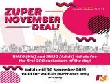 Zuper November Deal Promotion in KidZania Kuala Lumpur
