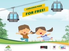 Children Ride for FREE in Singapore Cable Car with Passion Card