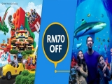 RM70 Off in Legoland Malaysia Resort Exclusive for Maybank Cardholders