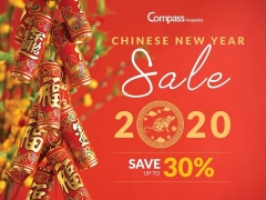 Chinese New Year Deals for your Accommodation with Compass Hospitality
