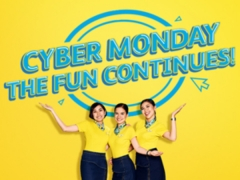 Cyber Monday Deal - Fly to Philippines with Cebu Pacific from SGD85