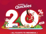 20% Off All Flights to Indonesia with AirAsia