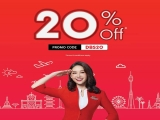 20% off Flights in AirAsia with DBS Card