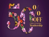 50% Off 1-Year Membership of Friends of the Gardens
