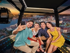 50% off One-day Singapore Cable Car Sky Pass with DBS Card