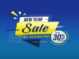 New Year Sale in Malaysia Airlines with Fares Up to 30% Off
