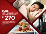 Need Sleep? VIP Package at Tune Hotel KLIA2 from RM270