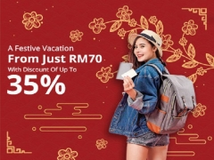A Festive Vacation at Tune Hotels with Up to 35% Savings