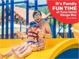Family Filled Fun with Stay Packages at Tune Hotel Danga Bay Johor Bahru