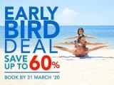 Book Early and Save up to 60% at Centara Hotels and Resorts