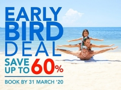 Book Early and Save up to 60% at Centara Hotels and Resorts