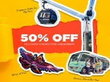 50% Off One Faber Group Attractions with DBS/POSB Card
