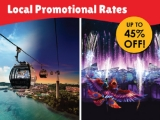 Local Promotional Rates (Up to 45% off) in One Faber Group Attractions